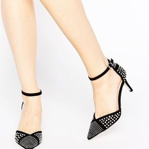 ASOS Super Sonic Studded Pointed Heels